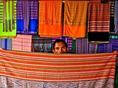 Textile market (Mercado tais), Dili, Timor Leste, 2010
