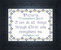 Thomas - Name Blessings Personalized Cross Stitch Design from Joyful Expressions