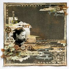 Love all the different shades of one tone. Toggles sample by Anna Dabrowska