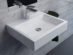 a washbasin LINDSEY 500C  #marmite #marmiteSA #bathroom #bathroomdesign #simpledesign #interiordesign #InterieurDesign #schlichtesdesign #modernesdesign #designmoderno