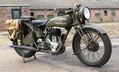 Norton 500cc 16H Former WWII - 1943