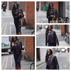 The fabulous @otlile_mabuse arriving for #StrictlyProRehearsals