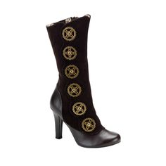 Awesome steampunk boots