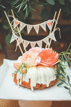 Wedding bundt cake