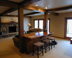Traditional Basement Design, Pictures, Remodel, Decor and Ideas - page 10