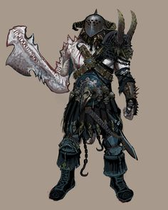 Warhammer Online: Age of Reckoning Concept Art Fantasy Warrior, Fantasy Rpg, Medieval Fantasy, Fantasy Artwork, Dark Fantasy, Fantasy Races, Fantasy Character Design, Character Art, Character Concept