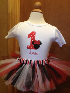 First Birthday Girl onesie and Tutu with by CreativeLifeboutique, $35.00