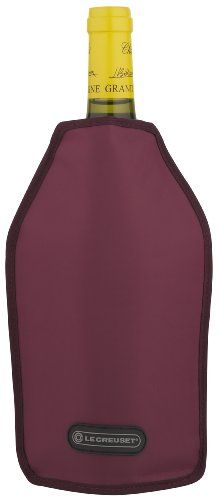 Le Creuset Wine Cooler Sleeve Burgandy -- Check this awesome product by going to the link at the image.