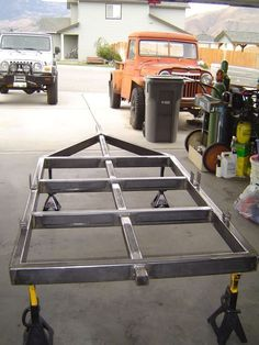 Our trailers are constructed to the greatest standards. The first thing one usually does is back up to the trailer and set the coupler back on the ball. Trailer Off Road, Trailer Park, Bug Out Trailer, Trailer Build, Camping Trailer Diy, Teardrop Camper, Teardrop Trailer, Expedition Trailer, Overland Trailer