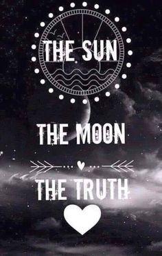 teen wolf, the moon, the sun, the truth