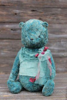 Teddy Bear / Мишки Тедди ручной работы. Изя. Виктория Лямпарская. Интернет-магазин Ярмарка Мастеров. Мишка тедди, мишка из плюша, сетка