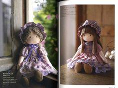 Mari Yoneyama Handmade Dolls Japanese Craft Book by pomadour24