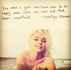actually some good words of wisdom, marilyn