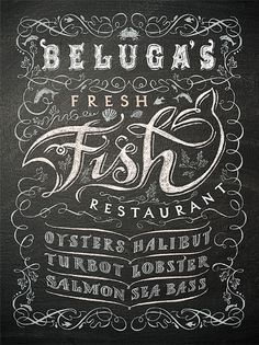 Patrick Knowles Design chalk board hand lettering illustration
