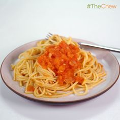 Michael Symon's Fresh Tomato Sauce #TheChew