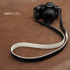 【CAM-in】真皮相机背带 牛皮 通用型 黑色 CAM2250