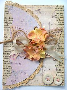 Gorgeous envelop card