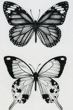 Dope Tattoos, Mini Tattoos, Body Art Tattoos, Small Tattoos, Tatoos, Butterfly Sketch, Butterfly Tattoo Designs, Butterfly Art, Butterflies