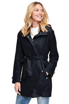 Women's Tall Metro Rain Coat