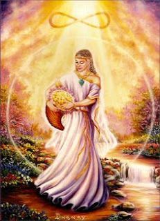 Abundantia – Roman Goddess of prosperity, luck, and abundance. She is the personification of wealth and riches, blessing all who ask to receive her gifts. Angel Guide, Talisman, Greek And Roman Mythology, Doreen Virtue, Sacred Feminine, Oracle Cards, Gods And Goddesses, Deities, Gratitude