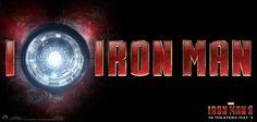 Logo I love Iron Man