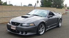2004 Ford Mustang Saleen Convertible presented as Lot at Anaheim, CA Ford Mustang Saleen, 2004 Ford Mustang, Mustang Cobra, New Edge Mustang, Lifted Ford Trucks, Car Ford, Bugatti Veyron, Land Rover Defender, My Ride