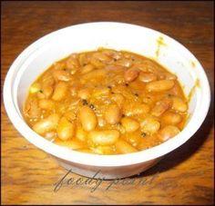 Rajma Curry - A tasty vegetarian curry. North Indian Cuisine