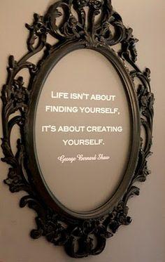 Frame a quote you love http://www.BacktoA.com