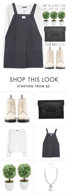 """""""embrace your flaws"""" by alienbabs ❤ liked on Polyvore featuring Dr. Martens, MANGO, WNDERKAMMER, clean, organized and twinkledeals"""