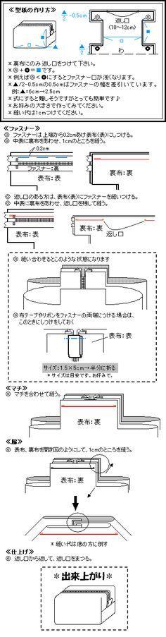 お裁縫●ポーチ作り方 - ●ネコあしといっしょ●|yaplog!(ヤプログ!)byGMO