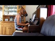 "Horse covers Taylor Swift's ""Trouble""... // I like this better than the original. :)"
