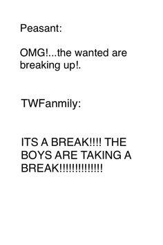 ITS A BREAK!!! KNOW THE DIFFERENCE BETWEEN BREAK UP AND BREAK! BREAK!!! BREAK!!