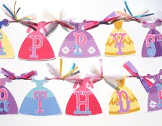 Items similar to Princess Dress Themed Happy Birthday Banner Party Decoration With Anna Elsa Snow White Aurora Belle Cinderella Sophia Rapunzel on Etsy Birthday Name, Happy Birthday Banners, Princess Birthday, It's Your Birthday, Birthday Party Themes, Princess Party Decorations, Party Items, For Your Party, Holidays And Events