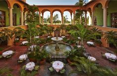 Biltmore Hotel Miami Coral Gables: Old world luxury, massive outdoor pool, James Beard-nominated chef. Miami Beach, Coral Gables Miami, Downtown Miami, Florida, Spanish Colonial, Luxury Living, Outdoor Pool, Hotels And Resorts, Fine Dining