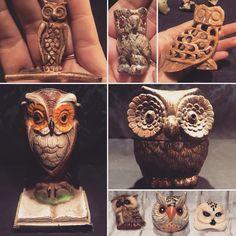 Vintage Owls!