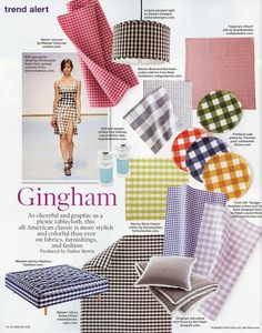 Gingham and Hastens