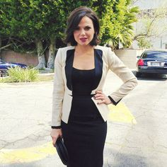 Regina Mills, the most stylish business casual clothes on Once Upon a Time