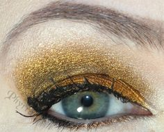 BftE Dragonslayer Tutorial Neutral Eye Makeup, Bright Eye Makeup, Subtle Makeup, Smokey Eye Makeup, Gold Eyeshadow Looks, Metallic Eyeshadow, Sexy Makeup, Makeup Looks, Rainbow Makeup
