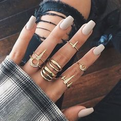 Nos encantan estos anillos ¿y a ti? ✨ #accessories #fashion #beauty