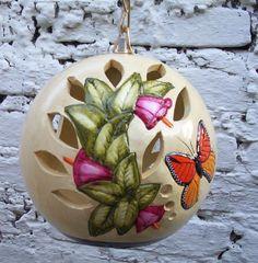ARTESANIAS MEXICANAS - Luminaria mariposa