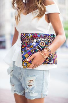 THE FRIDAY FASHION FILES: THE BOHEMIAN CLUTCH | THE STYLE FILES