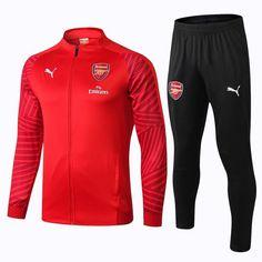 Arsenal F.C. Puma Football club 2018 - 19 TRAINING Casual TOP TRACKSUIT  Zipper FÚTBOL CALCIO SOCCER FUSSBALL Men s Sweatshirt Jogging Pants  Sportswear Set ... 4190ffcfe