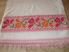 toalha bordadas