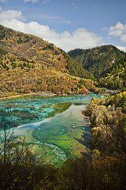 China - Jiuzhaigou Valley in Sichuan