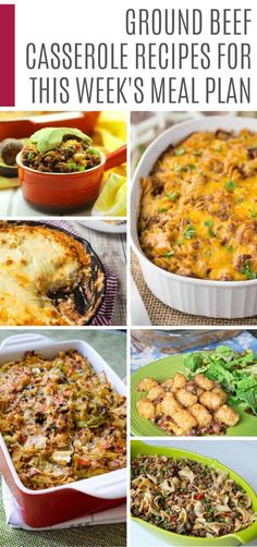 22 Easy Ground Beef Casserole Recipes for Budget Friendly Midweek Meals - Food. - easy ground beef recipes - Easy Ground 22 Easy Ground Beef Casserole Recipes for Budget Friendly Midweek Meals - Food. Beef Casserole Recipes, Casserole Dishes, Meat Recipes, Cooking Recipes, Recipes Dinner, Vegetarian Recipes, Easy Baked Ziti, Easy Ground Beef Casseroles, Ground Beef Recipes Easy