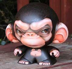 Munny designers vinyl toy by Ken Keirns ♥ lovesgraphic art toys collection!