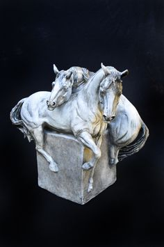 SOLD  This gorgeous piece went to CA.  Done in 2010.  Classic signature of my sculpture incorporated on vessels and pedestals.  Original stoneware.