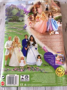 Barbie Princess And The Pauper Erika & Dominick Outfits BNIB | eBay Doll Clothes Barbie, Barbie Dolls, Barbie Princess, Disney Princess, Princess And The Pauper, Doll Outfits, Erika, Aurora Sleeping Beauty, Disney Characters