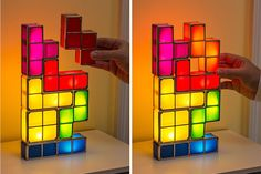 How Much More Classic Of A Video Game Can You Get Than Tetris? This Light