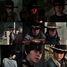 Carl Grimes (Chandler Riggs), The Walking Dead
